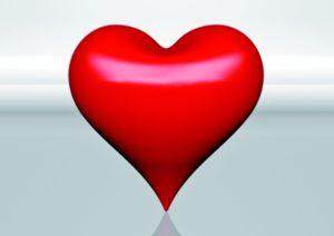 אהבה, לב