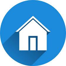 בית,סמל,כחול