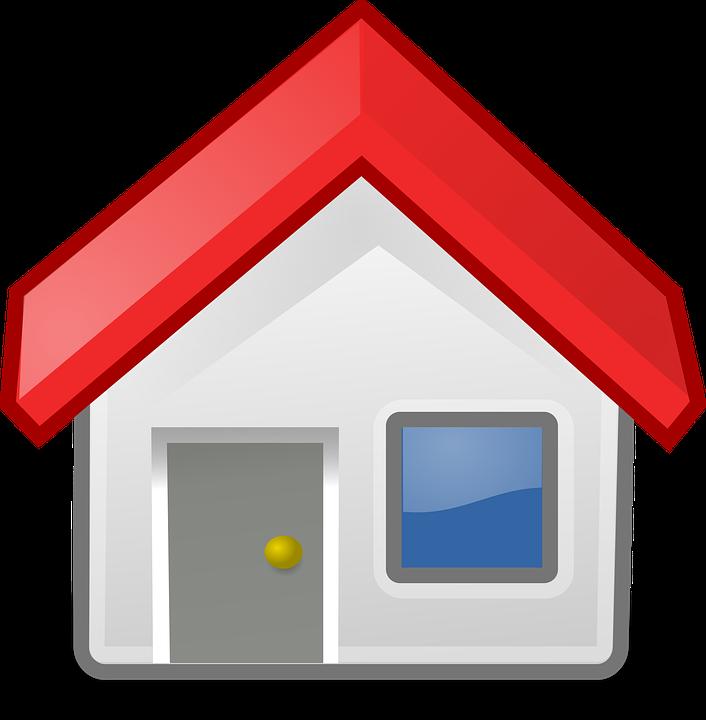 ברכת הבית,גג אדום,חלון כחול