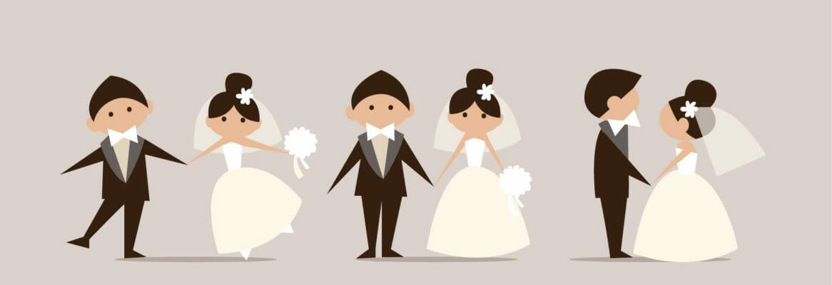 יום נישואים,יום נישואין,חתן וכלה,זוג