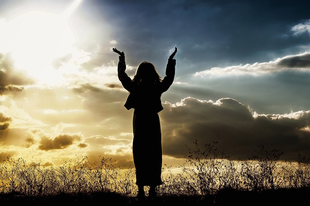 תפילת הודיה לבורא עולם, תפילה לאלוהים